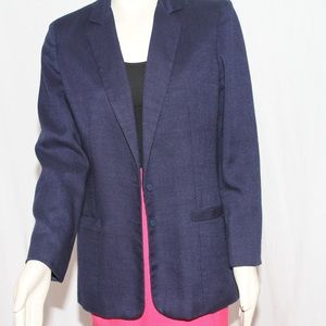 Blue Blazer, Linen Full lined